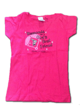 Girls Pink Diamonds T-Shirt